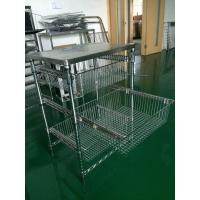 Buy cheap Sliding basket trolley from wholesalers