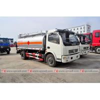 China dongfeng 4*2 6 wheelers 2000 gallon fuel truck for sale on sale