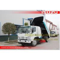 China Road sweeper washer truck Isuzu NPR on sale
