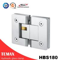China 180 Degree Stainless Steel Glass Door Clamp Hinges on sale