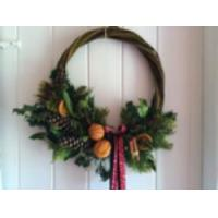 China Art & Craft Days - Christmas Wreaths & Swags  Willow - Essex on sale