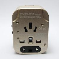 Buy cheap EEC-303 Universal Travel Adapter with 2-USB 2.4A from wholesalers