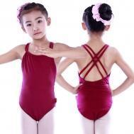 Buy cheap Leotards Child double camisole back-crossed leotard CS0262 from wholesalers