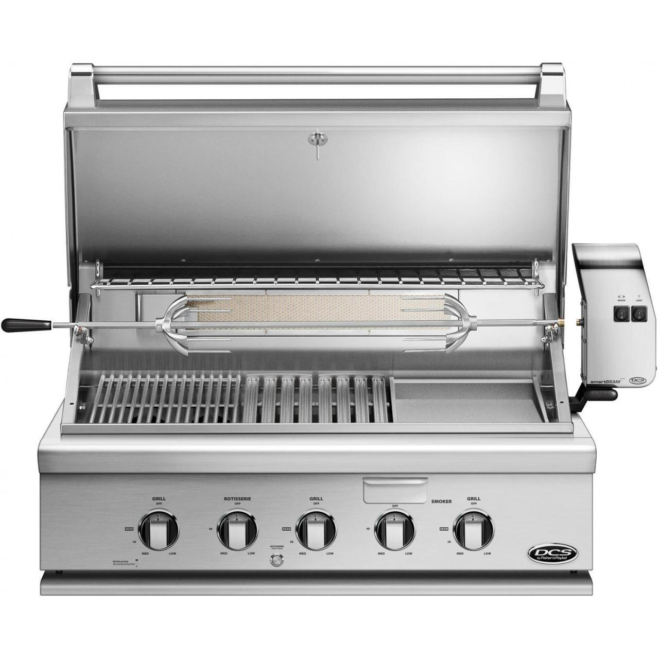 Best DCS Heritage 36-Inch Built-In Natural Gas Grill With Infrared Burner Kit & Griddle - BH1-36RGI-N wholesale