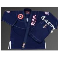 China New Ronin Samurai Jiu-jitsu Kimono - Navy - Free ship/handling on sale