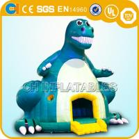 Best inflatable dinosaur bounce houses,Giant inflatable dinosaur bouncy castles,Jumping castles wholesale