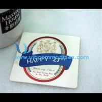 China Promotional Absorbent Paper Coaster Paper Coaster on sale