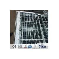 Buy cheap galvanized steel grating stair tread from wholesalers