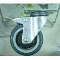 China Heavy Duty Solid Rubber Wheel Industrial Caster on sale