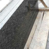 China 2015 New Cheap Lazihou Green Granite Slab Price for Kitchen Green Color Granite Countertops Prices on sale