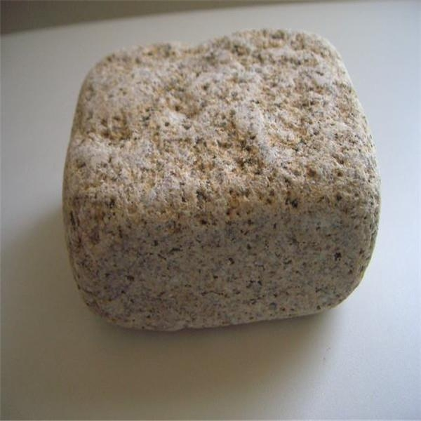 Cheap Cheap China Natural Garden Carving Granite Yellow Cobble Stone for sale