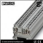 2.5(4) mm2,28A,ST 2.5 3L spring cage connection three level terminal block for Phoenix
