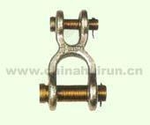 Cheap Double Clevis Link Self Colored Or Zinc Plated for sale