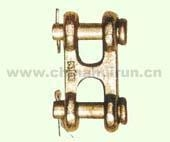 Cheap Twin Clevis Link Self Colored Or Zinc Plated for sale