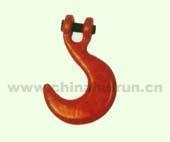 Cheap Container Hook Forged Alloy Steel Painted Red for sale