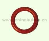 Cheap Weldless Round Ring Forged Carbon Steel Painted Red for sale