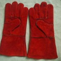 Best New products leather heat resistant welding gloves for welders with EN12477 wholesale