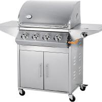 China 4 burner 67000 BTU stainless steel gas barbecue grill on sale