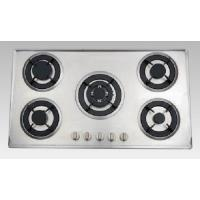 Buy cheap Pulse Ignition Gas Burner with S.S Brushed Panel Multi-burners Gas Stove from wholesalers