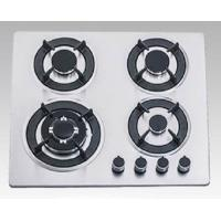 Buy cheap Kitchen Hob with Satfety Device Cast Iron Pan Support 4 Burners Gas Cooker from wholesalers
