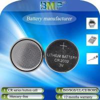 China Wrist watches battery 3V CR2032 lithium button cell on sale