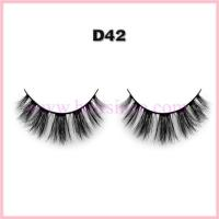 Best 3D silk fiber fake lashes hot style wholesale