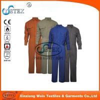 Best Safety workwear EN1149 wholesale flame retardant cotton coverall for workers wholesale