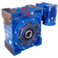 China Double Combination of NMRV Worm Reducers Doulbe worm gearbox NMRV075/150 on sale