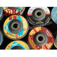 China China OEM 115*22mm,Grit40 Ceramic Coated Abrasive Flap Disc factory for Angle Grinder Machine on sale