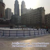 Virgin hdpe hockey dasher board/ portable ice floor/ uhmwpe ice skating rink