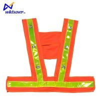 China Special Design Protective Kids Child Children Activities LED Flashing Safety Vest on sale