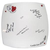 Buy cheap Anniversary Gifts A Perfect Love Ruby Anniversary Message Plate from wholesalers