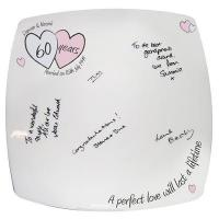 Best Anniversary Gifts A Perfect Love Diamond Anniversary Message Plate wholesale