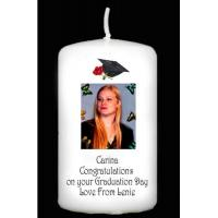 Buy cheap page Graduation Photograph Personalised Gift Candle from wholesalers