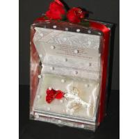 Buy cheap page Crystal Red Rose Personalised gift from wholesalers