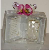 Buy cheap page Crystal Glass Guardian Angel Godmother Christening Personalised Thank you Gift from wholesalers