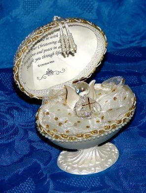 Cheap page Confirmation Personalised Guardian Angel Faberg Egg for sale