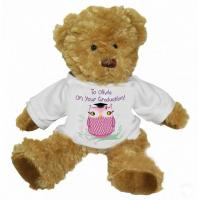 Buy cheap page Miss Owl Graduation Personalised Teddy Bear from wholesalers