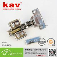 Best S304H09 SS304 soft-closing hinge,stainless steel furniture hardware(Fixed) wholesale