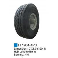 Rubber wheel/PU Foam Wheel FF1901-1PU