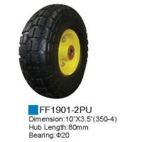 Rubber wheel/PU Foam Wheel FF1901-2PU