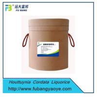 Best Chinese Herbal Medicine Houttuynia Cordata Liquorice Extract wholesale