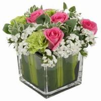 Best Beautiful Roses With Vase NO.97 delivery flower to china wholesale