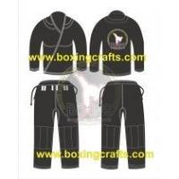 China BJJ GI black BJJ PEARL WEAVE GI on sale