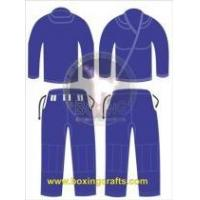 Best BJJ GI BLUE BJJ GOLD WEAVE UNIFORM wholesale