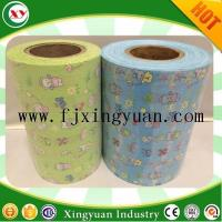 Best Velcro Magic frontal tape for disposable diaper raw materials wholesale