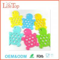 Buy cheap Cute Silicone Tortoise Shape Pot Holder Mat Trivet Cups,Spoon Rest from wholesalers