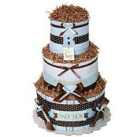 Best Girl Diaper Cakes Simple B for Boy Diaper Cake wholesale