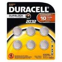 China Duracell DL2032 - CR2032 Batteries - 3V Lithium 6 Pack on sale