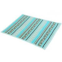 Best Environmental Knitting Pattern Baby Blanket For Bedding / Car lake blue color wholesale